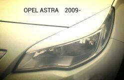 Реснички на фары для Opel Astra J 2009-