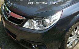 Реснички на фары для Opel Vectra C 2005-2008