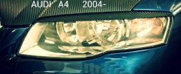 Реснички на фары для Audi A4 2004-