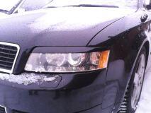 Реснички на фары для Audi A4 B6 2000-2004