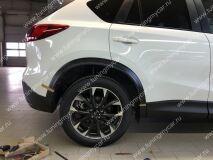 Расширители колесных арок для Mazda CX-5 (под покраску)