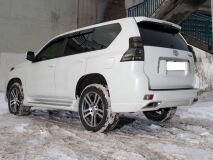 Бампер задний в стиле ELFORD для Toyota LC 150 PRADO (НЕ укомплектован насадками)