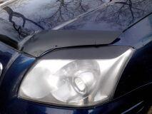Реснички на фары для Toyota Avensis AZT 250 2003-2006 ДОРЕСТАЙЛИНГ