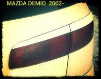 Реснички на фары для Mazda 2, Demio 2002- задние