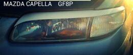 Реснички на фары для Mazda Capella 1997-