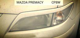Реснички на фары для Mazda Premacy 1999-