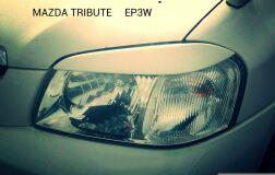 Реснички на фары для Mazda Tribute 2000-2006 (EP)