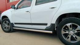 Молдинги узкие на двери для Renault Duster