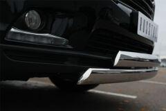 Защита переднего бампера D75х42 (дуга) D75х42 (дуга) для Toyota Highlander 2014-