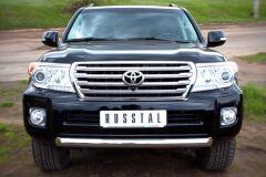 Защита переднего бампера 76 для Toyota Land Cruiser 200 2012-2015