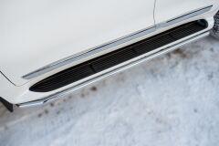 Защита порогов D42 для Toyota Land Cruiser 200 2015-
