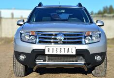 Защита переднего бампера D42 волна для Renault Duster 4x4 2011-