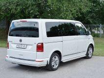 Защита заднего бампера D42 секция для Volkswagen Multivan Caravella Transporter T6 2016 (короткая база)