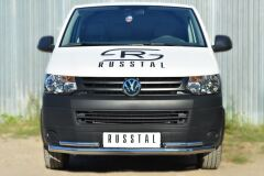 Защита переднего бампера D63 (секции) D42 (уголки) для Volkswagen Transporter kasten T6 2010