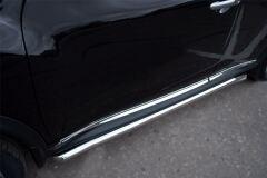 Защита порогов D63 для Nissan Juke 4x4 2010-