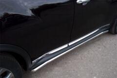 Защита порогов D42 для Nissan Juke 4x4 2010-