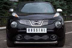 Защита переднего бампера D76 (дуга) для Nissan Juke 4x4 2010-