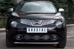 Защита переднего бампера D63 (дуга) для Nissan Juke 4x4 2010-