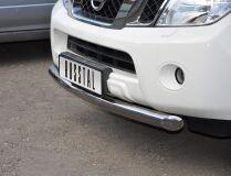 Защита переднего бампера D76 для Nissan Pathfinder 2010-2013