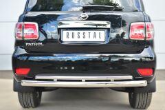 Защита заднего бампера D76 (дуга) D42 (дуга) для Nissan Patrol 2014-