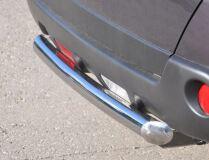 Защита заднего бампера D76 (дуга) для Nissan X-Trail 2011-2014