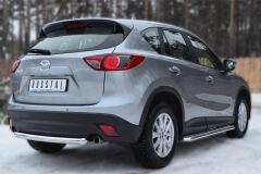 Защита заднего бампера D63 (дуга) для Mazda CX-5 2011-