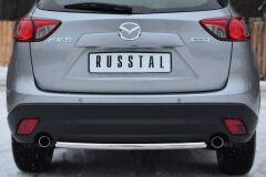Защита заднего бампера D42 (дуга) для Mazda CX-5 2011-
