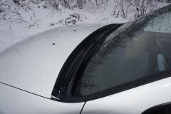 Накладка в проем стеклоочистителей (жабо) для Renault Duster