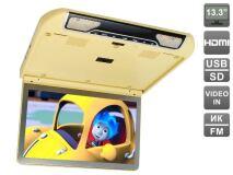 """Автомобильный потолочный монитор 13,3"""" со встроенным FULL HD медиаплеером AVIS AVS440MPP"""