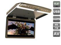 """Автомобильный потолочный монитор 15,6"""" со встроенным FULL HD медиаплеером AVIS AVS1550MPP"""