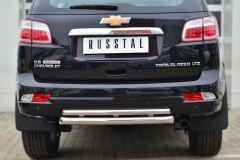 Защита заднего бампера D63 (дуга) D42 (дуга) для Chevrolet Trailblazer 2012-