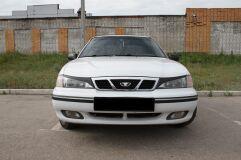 Накладки на передние фары (реснички) для Daewoo Nexia 1994—2008