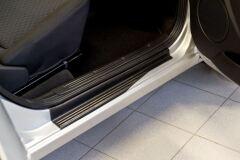 Накладки на внутренние пороги ПЕРЕДНИХ дверей Datsun on-DO 2014-