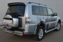 Защита заднего бампера D63 (дуга) для Mitsubishi Pajero 4 2012-2013