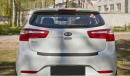 Накладка на задний бампер Kia Rio 3, Hatchback, 2011 - 2015