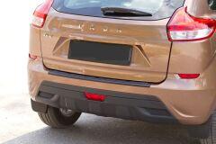 Накладка на задний бампер для Lada Xray, 2016 - н.в.