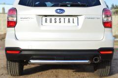 Защита заднего бампера D63 (дуга) для Subaru Forester 2013-