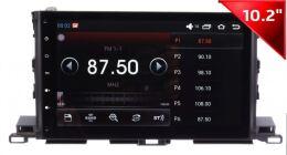Штатная магнитола Wide Media WM-1042HDb для Toyota Highlander 2014 + на Android 4