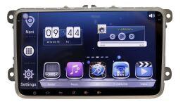 Штатная магнитола Wide Media WM-9016HD для VW с 2004г. универсальная на Android 4