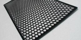 Пластиковая сетка Соты для стайлинга переднего бампера Соты
