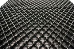 Пластиковая сетка для стайлинга бампера Bentley Style 112х48см закрытая