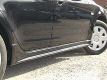 абс ПОРОГИ усиленные для Mitsubishi Lancer 10 (style 2.0)