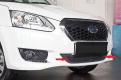 Защитная сетка решетки переднего бампера Datsun on-DO 2014-