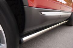 Пороги труба D63 (вариант 2) для Land Rover Range Rover Evoque Prestige u Pure 2011-