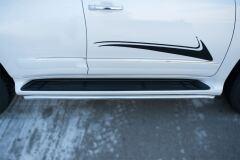 Защита порогов D42 для Lexus GX 460 2014-