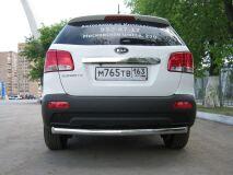 Защита заднего бампера D76 для Kia Sorento 2009-2011