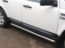 Пороги труба D63 для Land Rover Freelander 2 2006-2011