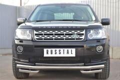 Защита переднего бампера D63 (секции) D63 (уголки) для Land Rover Freelander 2 2012-