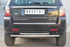Защита заднего бампера D63 (дуга) D42 (дуга) для Land Rover Freelander 2 2012-