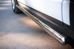 Пороги труба D63 (вариант 3) для Land Rover Range Rover Evoque Dynamic 2011-